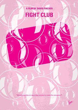 No027 My Fight Club minimal movie poster van Chungkong Art