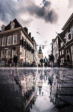 Straßen von Zutphen von Martijn Werkman