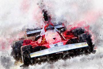 Niki Lauda, Ferrari Nr.1 von Theodor Decker