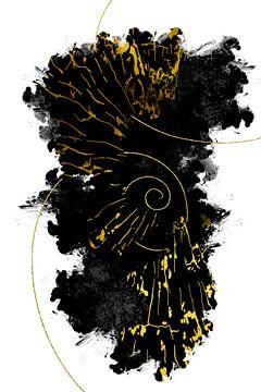 Abstrakte Malerei Nr. 43 von Melanie Viola