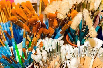 Kleurrijke borstels van Thomas Heitz