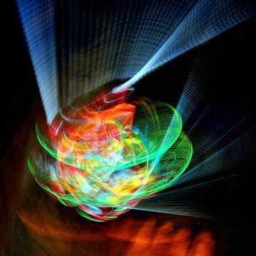 Licht und Farbe Spielerei von Marc Smits