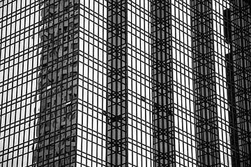 Detail Wolkenkratzer von Corien van der Reest