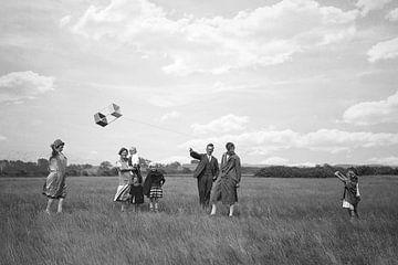 Drachenfliegen in den 1920er Jahre von