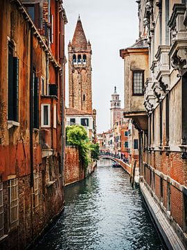 Venice - Rio di San Barnaba van Alexander Voss