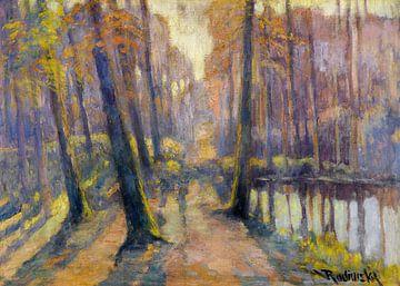 landschap van Atelier Liesjes