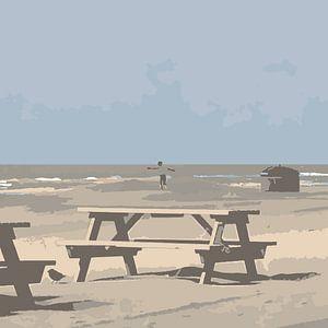 Strand von Henk Tijbosch