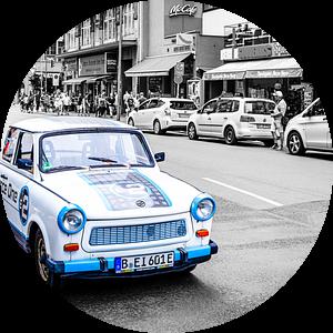 Trabant Safari in Berlijn van Evert Jan Luchies