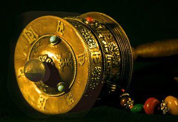 Tibetische Gebetsmühle von Gert-Jan Siesling