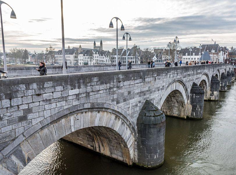 Maastricht - Sint Servaasbrug van Henk Verheyen