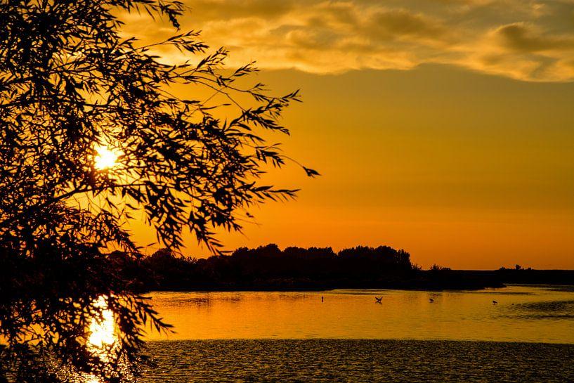 Dutch Sunset van Jaco Verheul