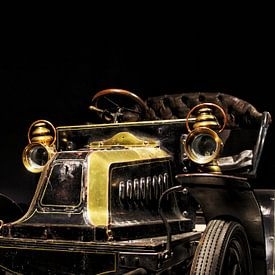 De historische auto van Lucas van Gemert