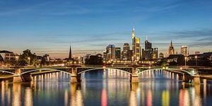 Frankfurt Skyline Panorama