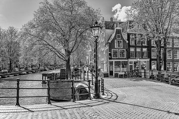 Reguliersgracht corner Prinsengracht in Amsterdam. sur