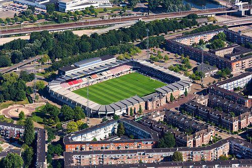 Luchtfoto Sparta stadion te Rotterdam