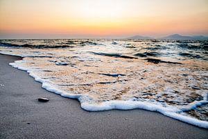 Schäumende Wellen