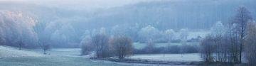 Panorama - Le paysage dans le froid de novembre