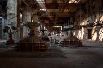 verlassenes Kraftwerk von Kristof Ven