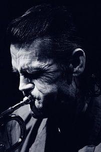 Chet Baker  #43 (blue) van Paolo Gant
