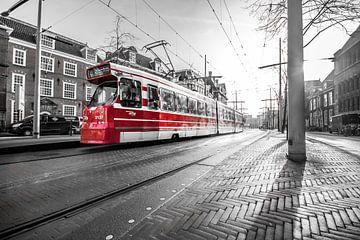rode tram von Bertrik Hakvoort