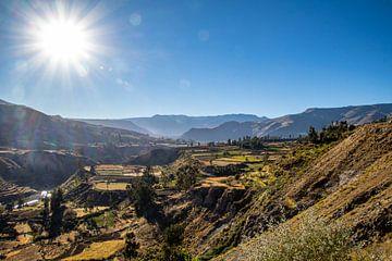 Colca Canyon, Peru van Johan Lissens