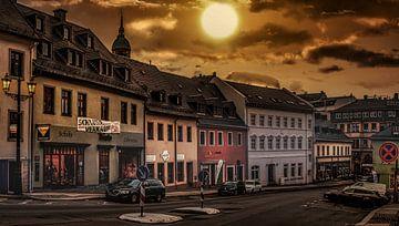 Annaberg Buchholz Sonnenuntergang von Johnny Flash