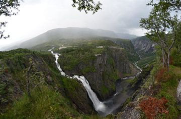 Voringfossen in Norwegen von Gerben van den Hazel