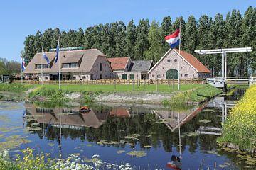 Pannenkoekenboerderij in Leiderdorp van Carel van der Lippe