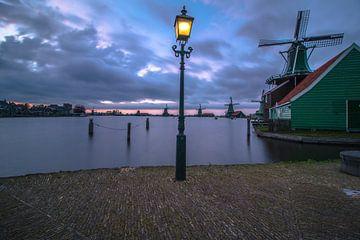 Niederländische Landschaft Zaanse Schans von AdV Photography