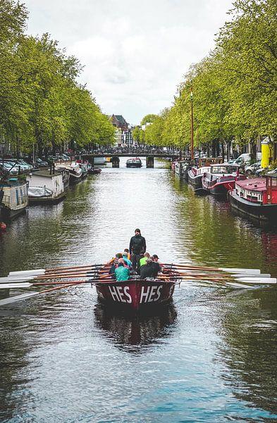 Amsterdamse Grachten van Ali Celik