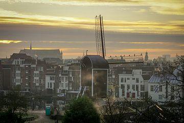 Molen de Put Leiden van Dirk van Egmond