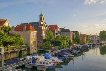 Wijnhaven in Dordrecht sur Dirk van Egmond