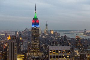 Empire State Building, New York van Johan van Venrooy