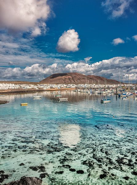 Caleta de Sebo haven van Harrie Muis