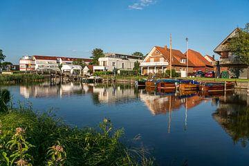 Dorf Steinhude am Steinhuder Meer von Peter Schickert