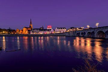 Wijck en de Sint Servaasbrug van Aron Nijs