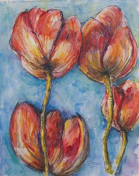 Tulpen von Ineke de Rijk