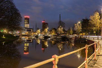Skyline Leeuwarden Harmonie sur Chiel Hoekstra
