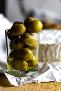 Olijven en kaas