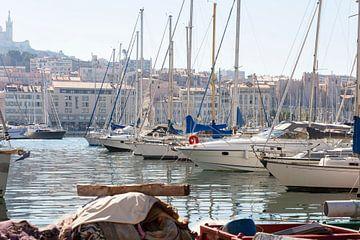 Hafen von Marseille von Danique Verkolf