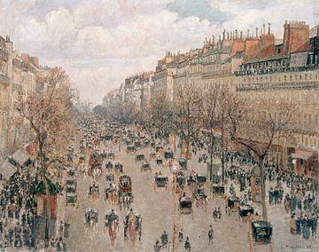 Boulevard Montmartre, Nachmittagssonne, Camille Pissarro
