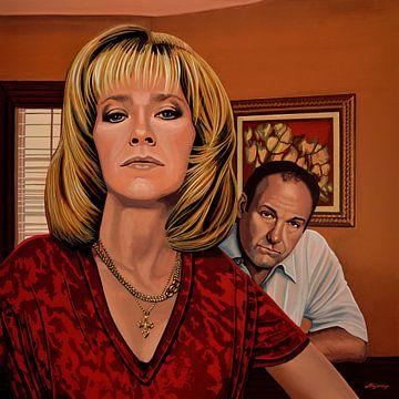 The Sopranos Schilderij von Paul Meijering