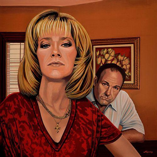 The Sopranos Schilderij