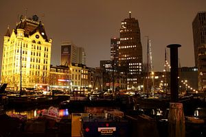 Oude Haven van Rotterdam by night