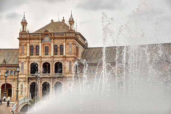Plaza de España van  Rene Albers