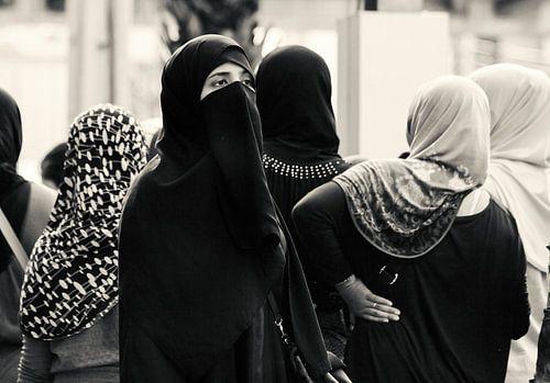 Moslima in Bangkok van