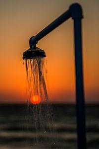 sunsetshower van