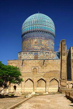 Bibi Kohonim Moskee  Samarkand van Yvonne Smits
