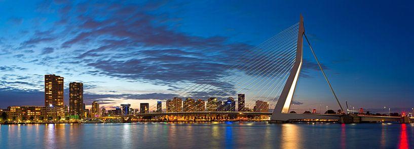 Panorama Erasmusbrug von Anton de Zeeuw