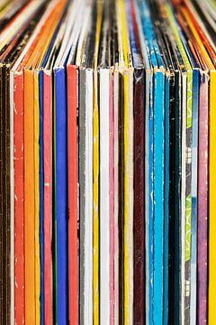Vintage Vinyl Rock Platenverzameling van Andreea Eva Herczegh